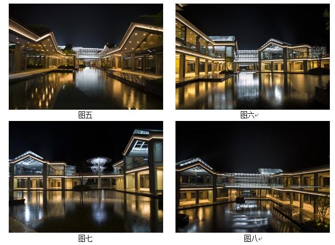 珍珠广场中轴溪商业街建筑夜景灯光设计与实施心得